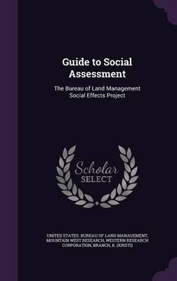 Guide to Social Assessment