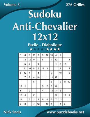 Sudoku Anti-chevalier Facile À Diabolique 276 Grilles