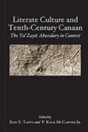 Literate Culture and Tenth-Century Canaan