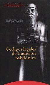 Códigos legales de tradición babilónica