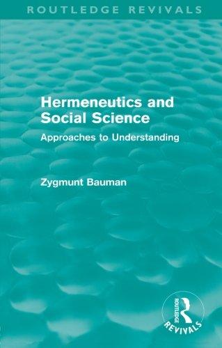 Hermeneutics and Social Science