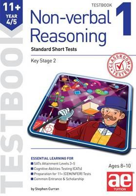 11+ Non-verbal Reasoning Year 4/5 Testbook 1