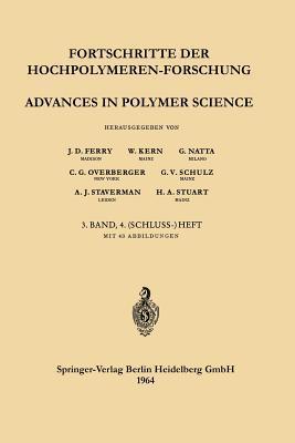 Fortschritte der Hochpolymeren-Forschung / Advances in Polymer Science