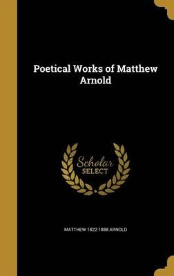 POETICAL WORKS OF MATTHEW ARNO