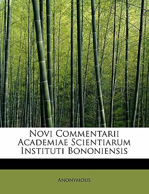 Novi Commentarii Academiae Scientiarum Instituti Bononiensis