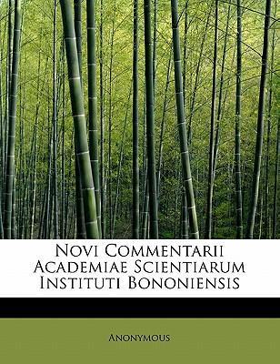 Novi Commentarii Academiae Scientiarum Instituti Bononiensis