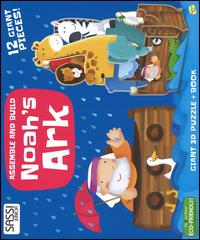 Noah's ark. Assemble and build. Libro puzzle