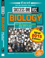 Biology: Past HSC Questions & Answers, 2001-2003 by Topic, 2006-2014 by Paper