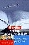 French Vocabulary Handbook Berlitz