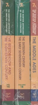 The Norton Anthology of English Literature, 1