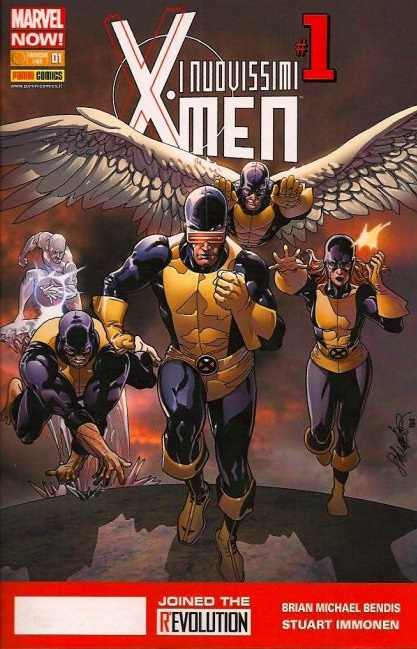 I nuovissimi X-Men n. 1 - Variant Cover