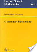 Gorenstein dimensions