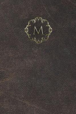 Monogram M Any Day Planner Notebook