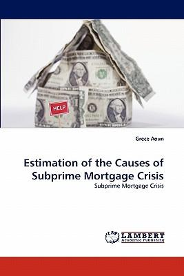 Estimation of the Causes of Subprime Mortgage Crisis