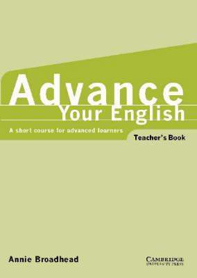 Advance your English Teacher's book