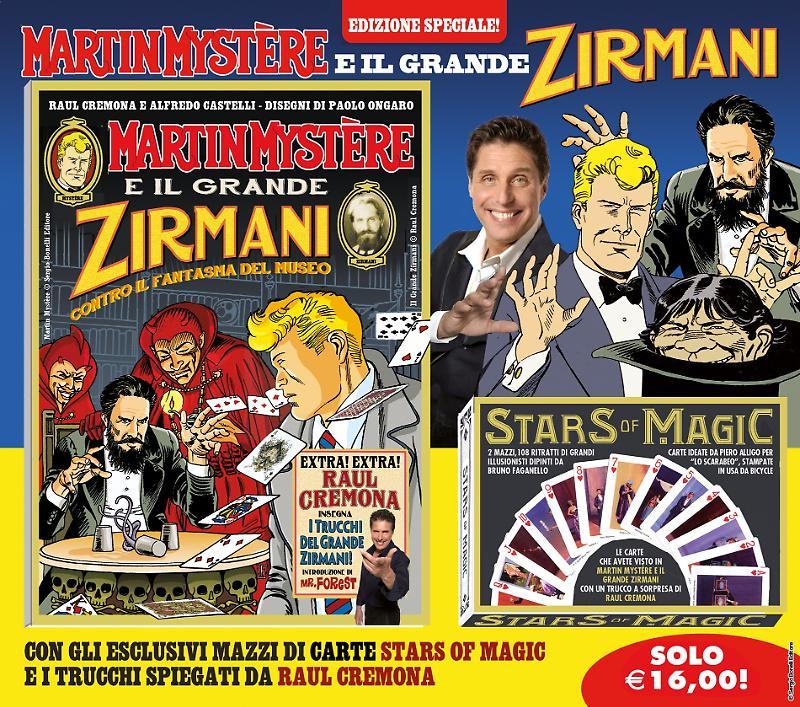 Martin Mystère e il grande Zirmani