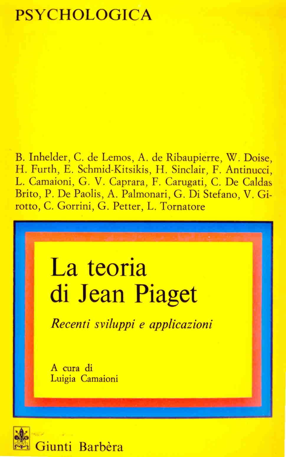 La teoria di Jean Pi...
