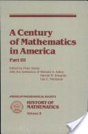 A Century of Mathematics in America
