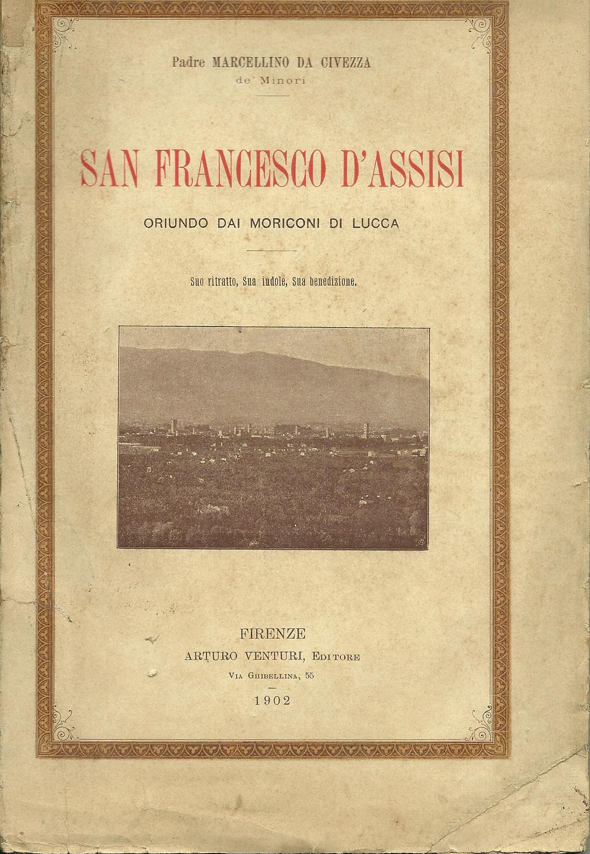 San Francesco d'Assisi oriundo dai Moriconi di Lucca