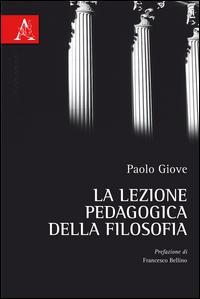La lezione pedagogica della filosofia