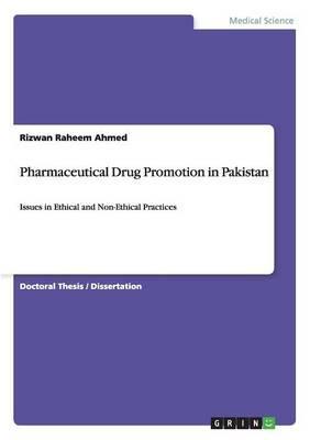 Pharmaceutical Drug Promotion in Pakistan