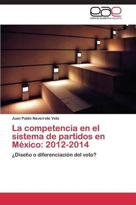 La competencia en el sistema de partidos en México