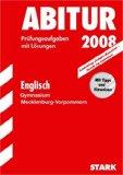 Abitur-Prüfungsaufgaben Gymnasium Mecklenburg-Vorpommern