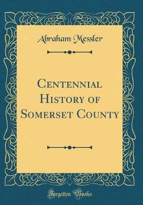 Centennial History of Somerset County (Classic Reprint)