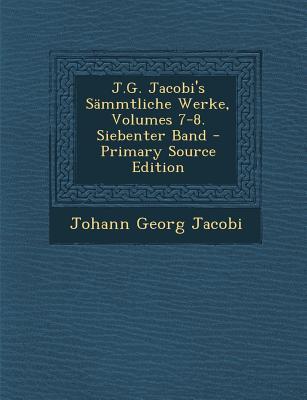 J.G. Jacobi's Sammtl...