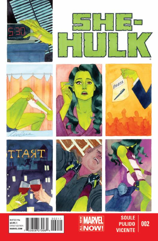 She-Hulk Vol.3 #2