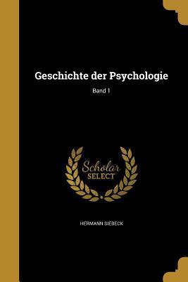 GER-GESCHICHTE DER PSYCHOLOGIE