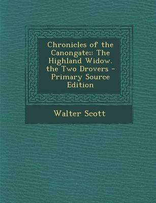 Chronicles of the Canongate;