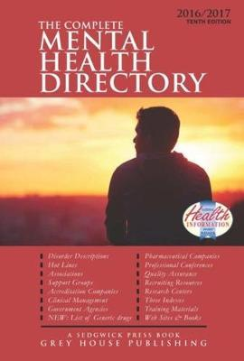 Complete Mental Health Directory 2016-2017