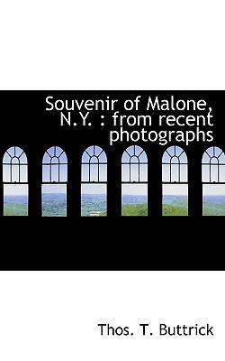 Souvenir of Malone, N.Y.