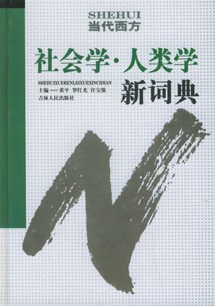 当代西方社会学人类学新词典