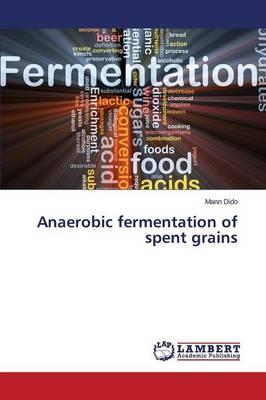 Anaerobic fermentation of spent grains