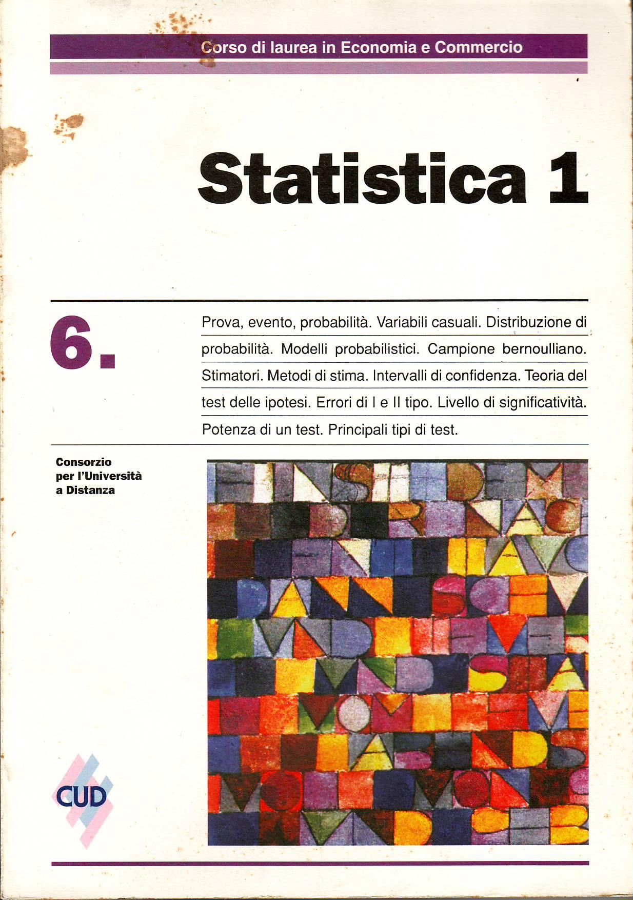 Statistica 1 - Vol. 6