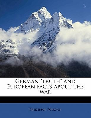 """German """"Truth"""" and E..."""