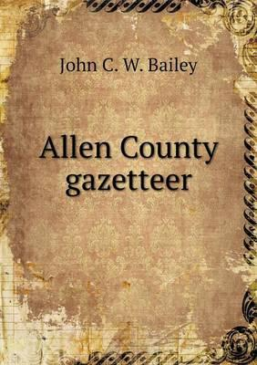 Allen County Gazetteer