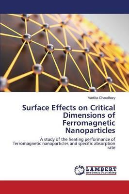 Surface Effects on Critical Dimensions of Ferromagnetic Nanoparticles
