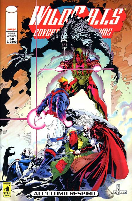 WildC.A.T.S n. 8
