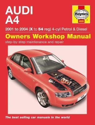 Audi A4 Petrol & Diesel (01 - 04) Haynes Repair Manual