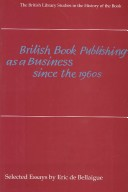 British Book Publishing as a Business since the 1960s