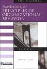 The Blackwell Handbook of Principles of Organizational Behavior