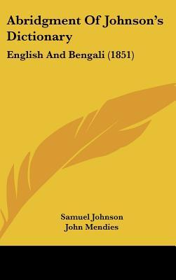 Abridgment Of Johnson's Dictionary