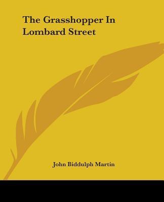 The Grasshopper in Lombard Street