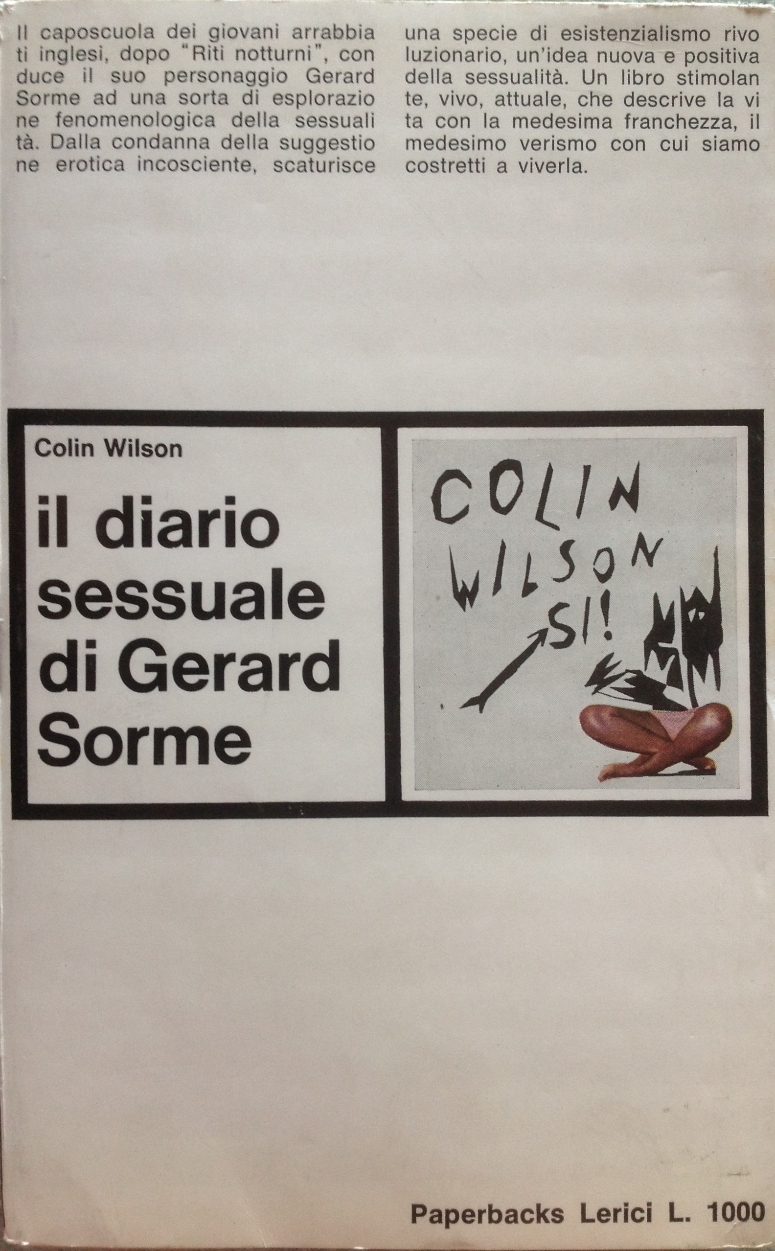 Il diario sessuale di Gerard Sorme