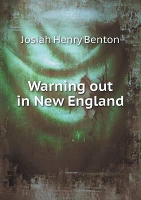 Warning Out in New England