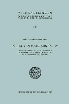 Property in Social Continuity