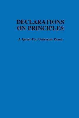 Declaration on Principles